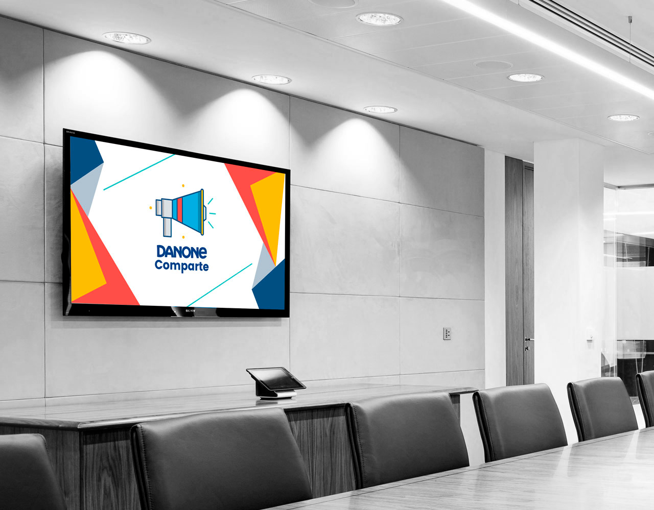 Danone Digital Signage